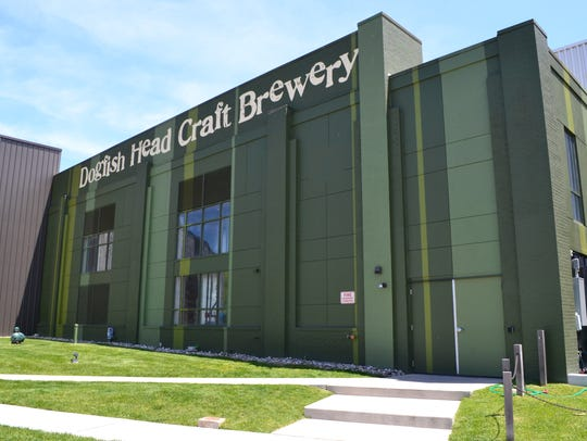 The Dogfish Head Brewery draws tourists and locals
