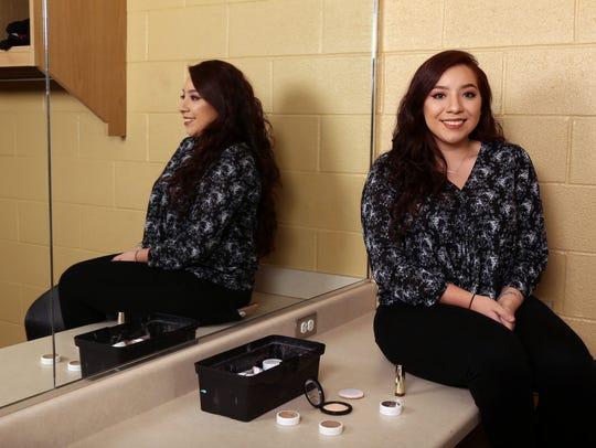 Tuloso-Midway High School senior Shanelle Renee Sandoval