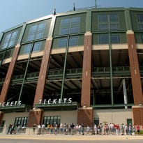 The Lambeau Field sales tax was put in place Nov. 1, 2000, after being approved by Brown County voters.