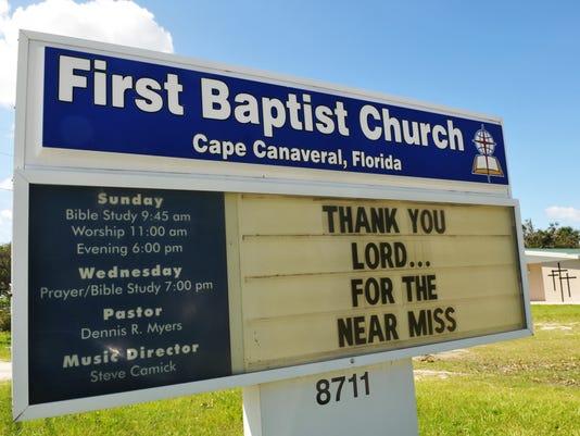 Post Hurricane Matthew Sunday