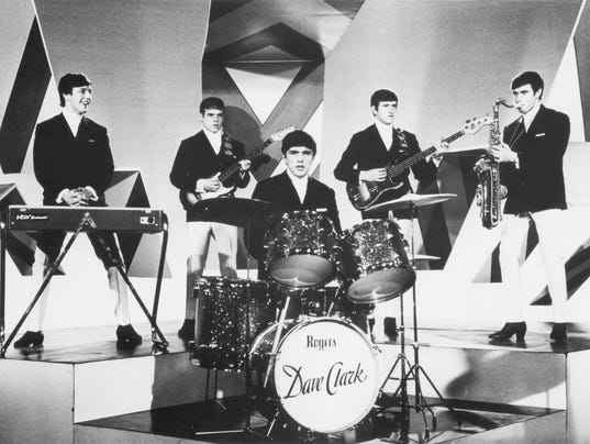 Dave Clark Five On Stage With The Dave Clark Five