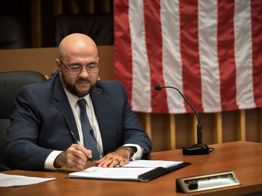 "Prospect Park Mayor Mohamed Khairullah signed an executive order in February upholding the equal protection clause of the U.S. Constitution and reiterating the borough's anti-discrimination policy, in the wake of President Donald Trump's executive order in January threatening to cut funding to so-called ""sanctuary cities."""