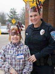 Village of Summit poilice officer Werth and Zoe Meintz