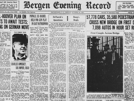 Bergen Evening Record cover