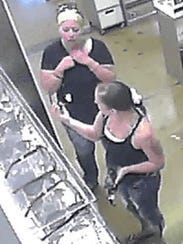 These women are wanted on the theft of sunglasses from