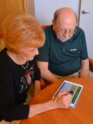 Pat and Ray Boulay, residents at The Fountains, on