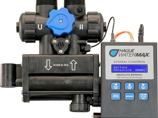 A water softener made by the Ohio-based William R.