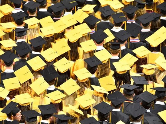 High school graduation will look different than this in 2020, and Wilson County Schools has laid plans for socially distanced ceremonies for its schools.