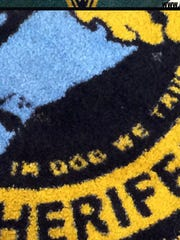 A $500 rug in the Pinellas County Sheriff's Office
