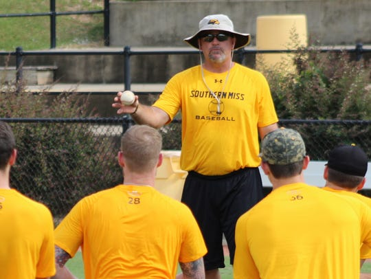 Christian Ostrander is headed into his first season as pitching coach at Southern Miss.