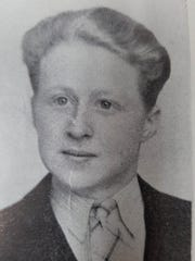 This is Leonard Gigowski's 1943 graduation photo from St. Francis Minor Seminary, which is now St. Thomas More High School on Milwaukee's south side.