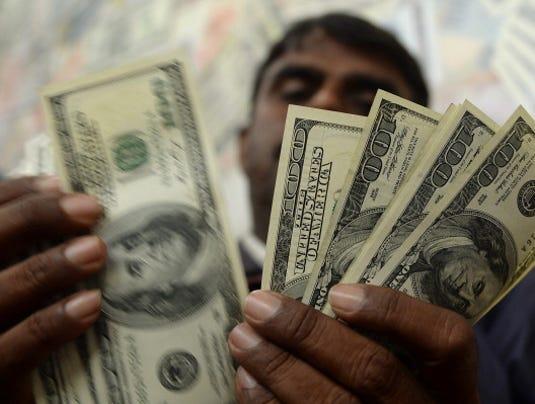 india dollar bills