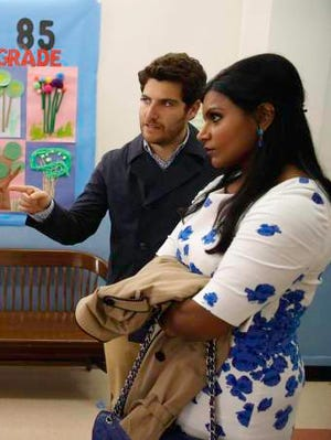 Mindy Kaling proves she wore  Duchess Catherine's dress first on this April 15 episode of 'The Mindy Project.'