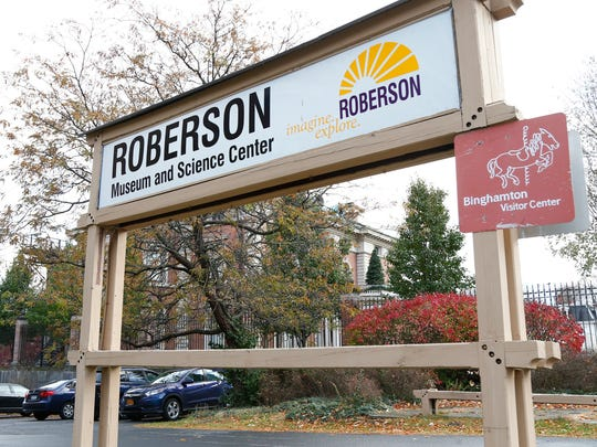 The Roberson Museum and Science Center on Thursday, November 16, 2017.