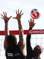 Moments of the EVP® Beach Volleyball Tour's Coolest