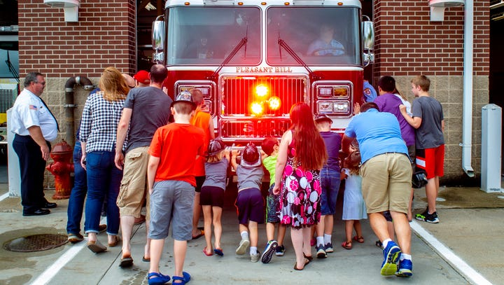 Pleasant Hill Fire Department receives custom-made engine
