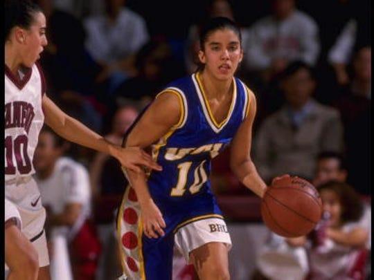 Former St. John Vianney star Erica Gomez shown playing