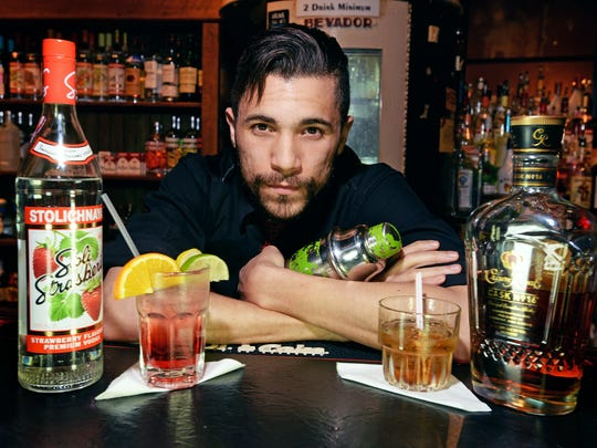 Sam Thomas, bartender at The Korner Lounge, has got your order when it comes to the best liquor for your drink.