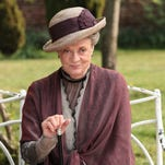 "In this image released by PBS, Maggie Smith as the Dowager Countess Grantham, is shown in a scene from the second season on ""Downton Abbey."" Producers of the popular British period drama on Thursday, March 26, 2015, confirmed it will end after its sixth season, scheduled to air in the U.S. in early 2016. The series, which airs earlier in England, will have its finale on Christmas Day, 2015. (AP Photo/PBS, Carnival Film & Television Limited 2011 for MASTERPIECE, Nick Briggs) ORG XMIT: CAET203"