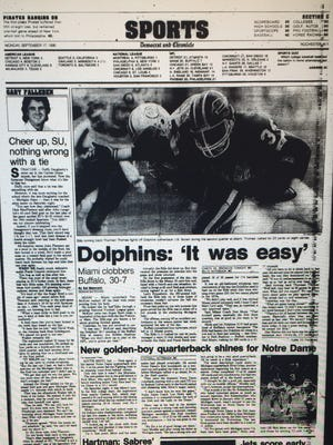 The D&C sports cover on Monday, Sept. 17, 1990