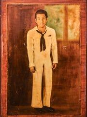 A vintage image of Larry Hernandez during his time