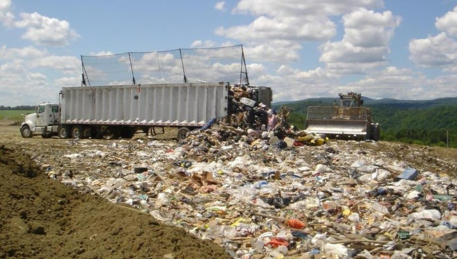 Most plastic that's produced ends up in landfills or the natural environment.