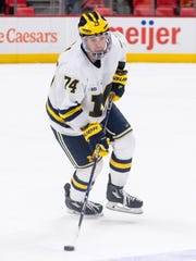 Michigan junior defenseman Nick Boka is looking forward