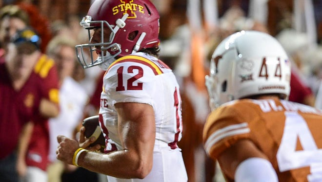 Iowa State quarterback Sam Richardson has made marked improvements in all facets of the game this season, writes Randy Peterson.
