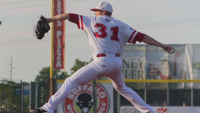 Jordan Kraus is one of the Freedom's top pitchers.
