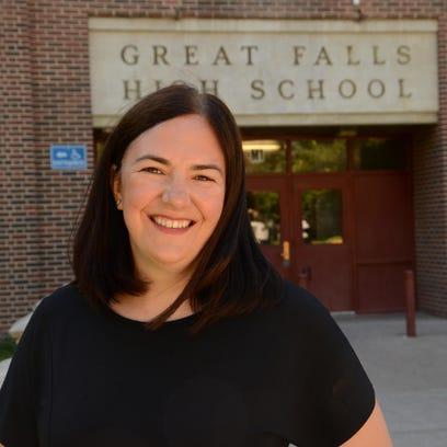 Kathy Van Tighem, counselor at Great Falls High, is