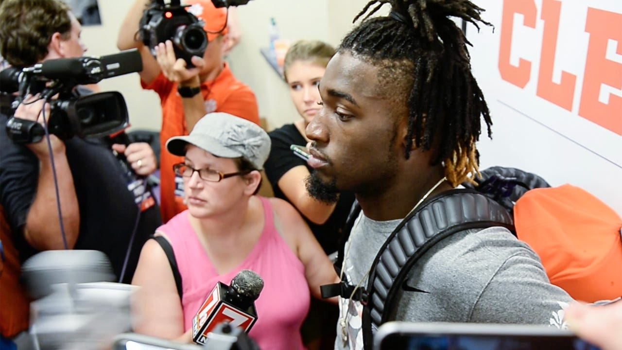 Deon Cain after Kent State game