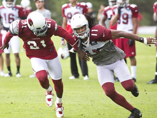 Patrick Peterson said he learned a lot from his 1-on-1