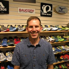 Dan Medved, 46, has taken over Medved Running and Walking Outfitters for his father Morris, who opened the Pittsford store in 1984.