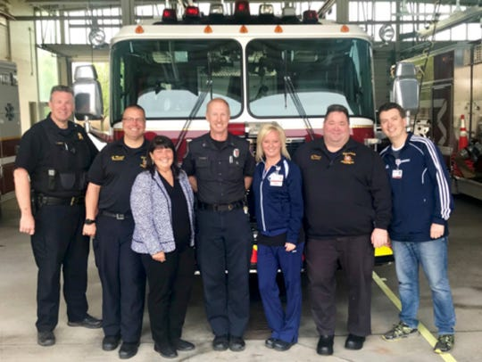 """The 2018 EMS Week theme is """"Stronger Together"""" representing"""