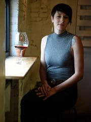 Beverage director Chelsey Johnson at Bastion creates wine pairings for each course.