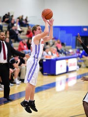 Launching a 3-point shot Thursday for Garden City is