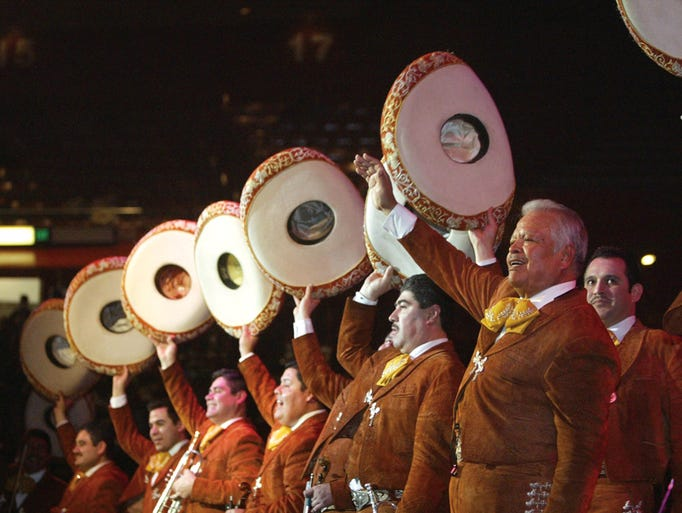 Mariachi Los Camperos have been announced as one of