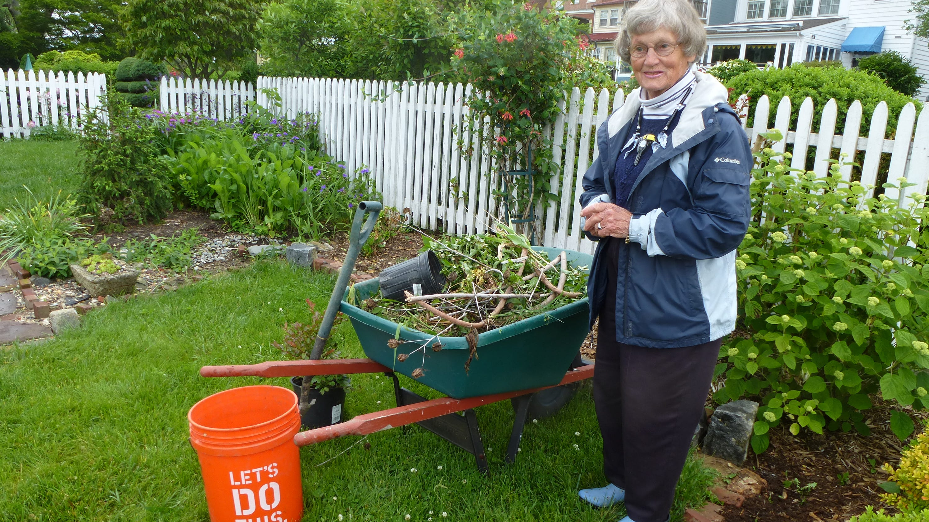 berm added to new castle garden helps prevent flooding