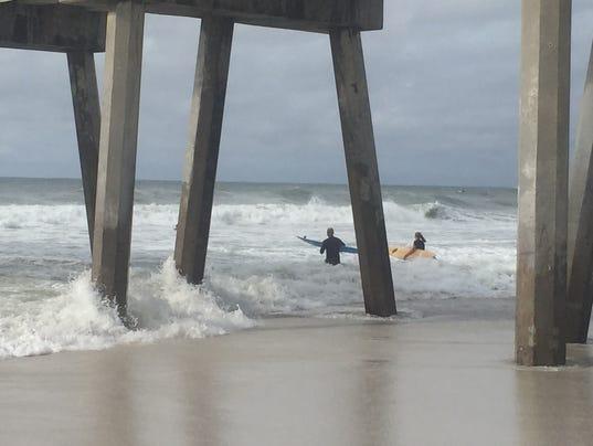 Pensacola Beach Tropical Storm Hermine