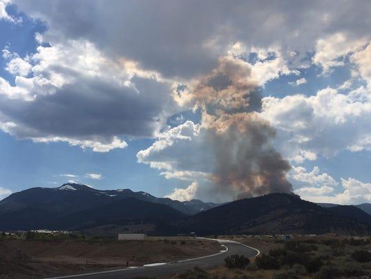 Mt. Rose Highway Fire