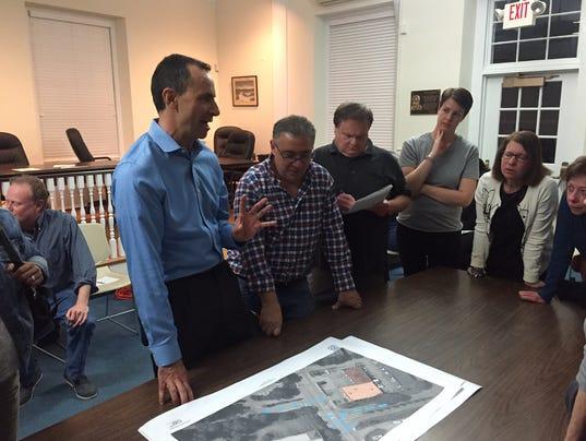Mount Kisco meeting with neighbors