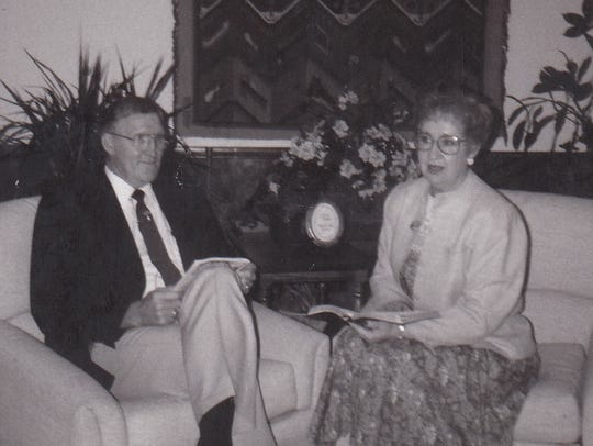 Howard Chapman and his wife, Dorcas, have served First