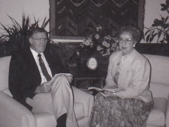Howard Chapman and his wife, Dorcas, have served First Baptist Church for more than four decades.