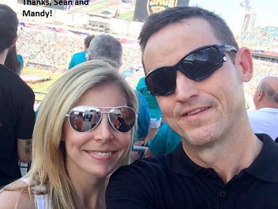 Mandy and Sean Hudson.