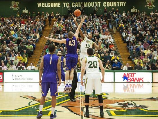 Albany vs. Vermont Men's Basketball 01/09/16