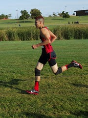 Tornillo senior Jordi Elias finished the Region 1-3A Cross Country in 11th place. It is Elias' first season on the team.