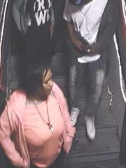 Surveillance footage shows individuals who may have