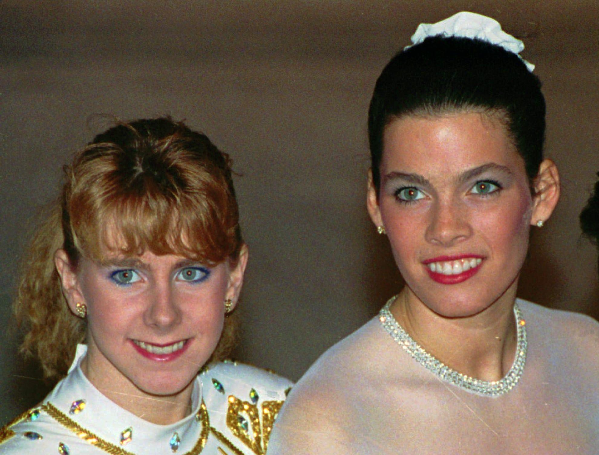 1388702724000 AP Tonya and Nancy The Impact Figure Skating tonya, nancy reflect on the whack heard 'round the world