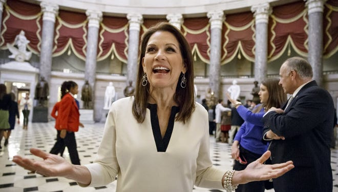 Retiring Rep. Michele Bachmann, R-Minn., plans to play a key role attacking former secretary of State Hillary Rodham Clinton if Clinton decides to run for the White House in 2016.