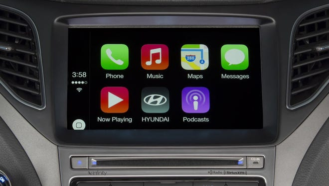 Apple's CarPlay allows for seamless integration between  many top iPhone features and an automobile's infotainment system. The system could be at the heart of alleged secret Apple meetings, which others speculate could be about the Cupertino company building its own cars.